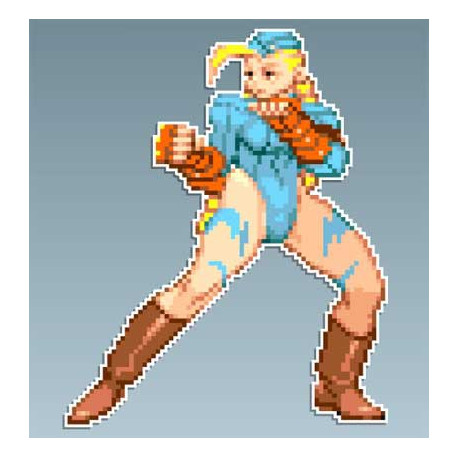 Street Fighter - Cammy R 8 x 10 Cms