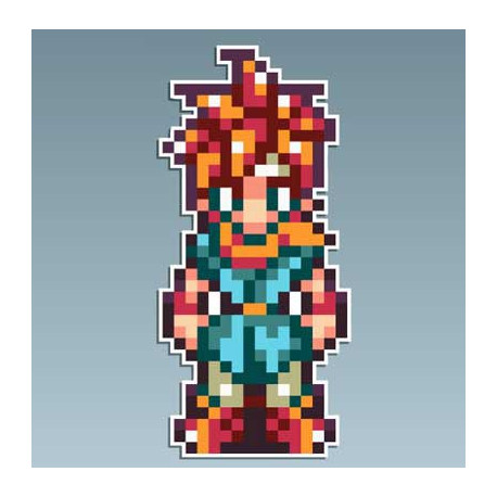 Chrono Trigger - Crono 5 x 10 Cms