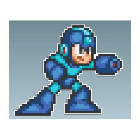 Megaman - Megaman SNES 10 x 8,5 Cms