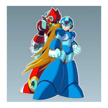 Megaman - Megaman X y Zero 7 x 10 Cms