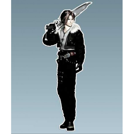 Final Fantasy - Squall 4 x 10,5 Cms