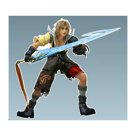 Final Fantasy - Tidus 10,5 x 10 Cms